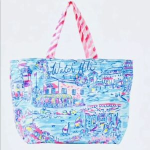 NWT Lilly Pulitzer Watch Hill Terry Beach Tote